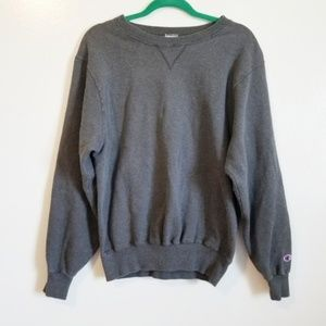 Champion Dark Gray Long Sleeve Sweatshirt